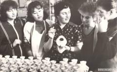 18-Фарфоровой-завод-живописный-цех-Живорова-Ахмедова-Шмидт-Рогозина-Костюшко-1985-год
